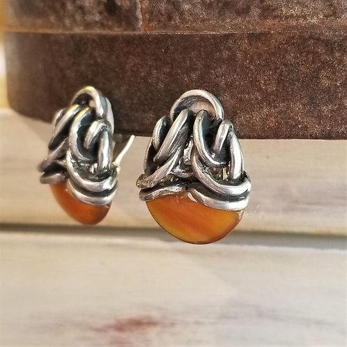 Farhenheit Large Sconce Clip Earrings