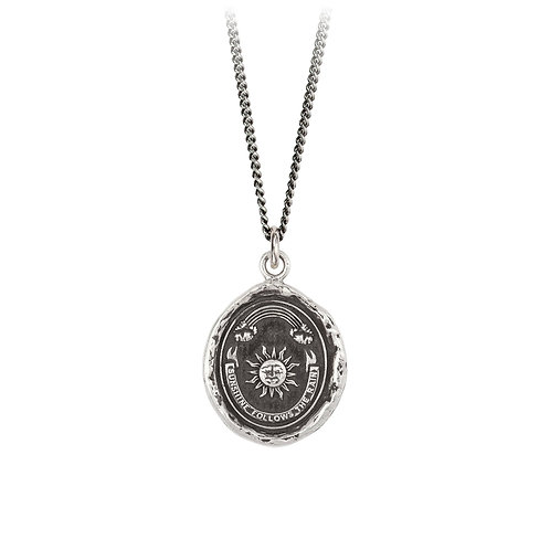 Pyrrha Sterling Silver Rainbow Talisman Necklace