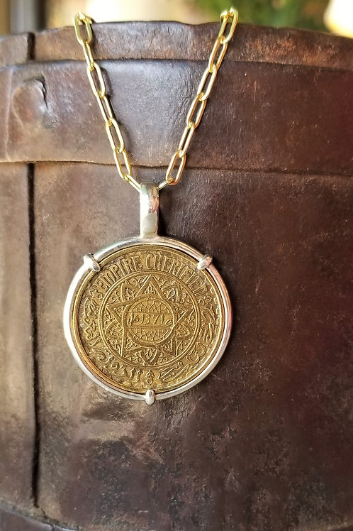 Karen Wright Jewelry Moroccan Coin Necklace