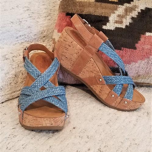 Bussola Style Fida in Zar Latte / Woven Jeans