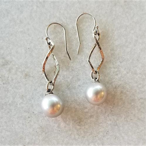 Karen Wright Jewelry Freshwater Pearl Drop Earrings