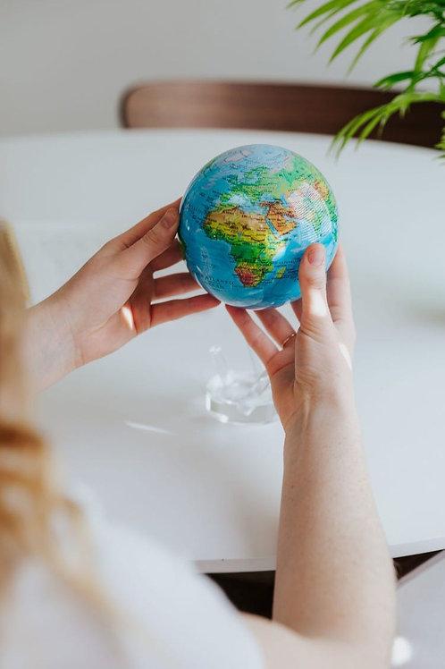 MOVA Globe Relief Map