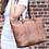 Thumbnail: Jack Georges BUFFED SHOPPER TOTE #6803
