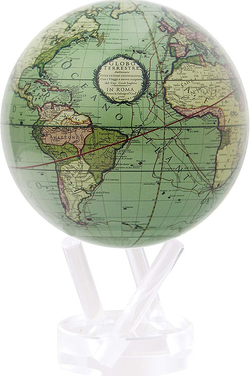 MOVA Globe Antique Terrestrial Green