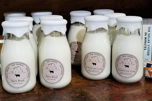 Milk Reclamation Barn Clothesline Linen Candle