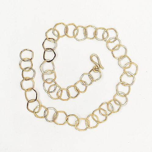 ObscurO Jewelry L'Anello Organic Circles Necklace