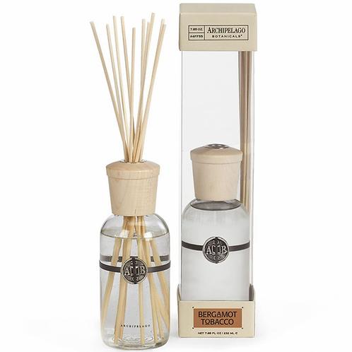 Archipelago Bergamot Tobacco Diffuser Kit