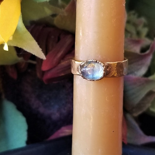 C&R Designs Moonstone Gold Plated Ring size 9
