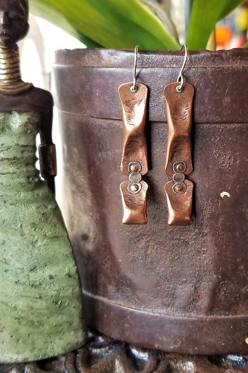 "Boo Bug Jewelry ""Milepost 17.5"" Earrings"