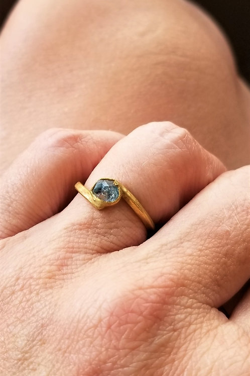 C&R Designs Herkimer Diamond Ring