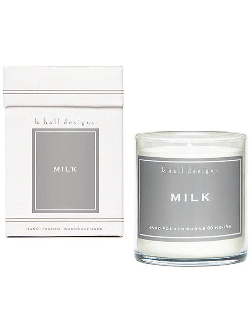 K Hall Studio Milk Jar Candle