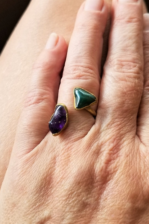 C&R Designs One of a Kind Gold Plated Ring