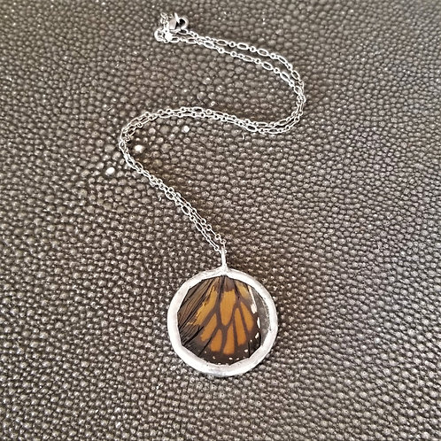 Wendy Padgett Designs Small Circle Wing Necklace