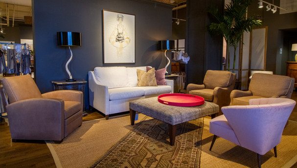 LEE Industries Chairs, Sofa, and Ottoman