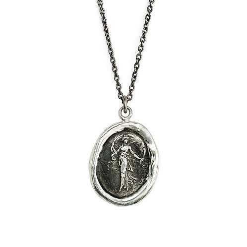 Pyrrha Festive Spirit Sterling Silver Talisman Necklace