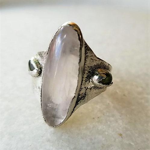 C&R Designs Oval Quartz Ring