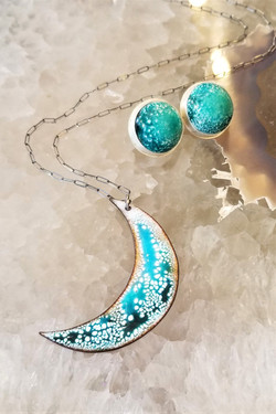 Feral Blue Jewelry by Ashley Tamber