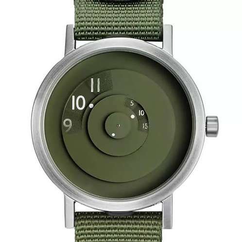Projects Reveal Watch in Green