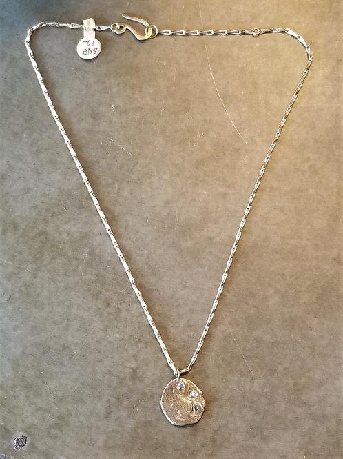 Emilie Shapiro Crescent Pendant Necklace
