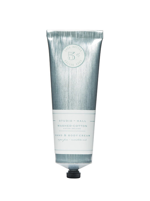 K Hall Studio Washed Cotton Hand & Body Cream