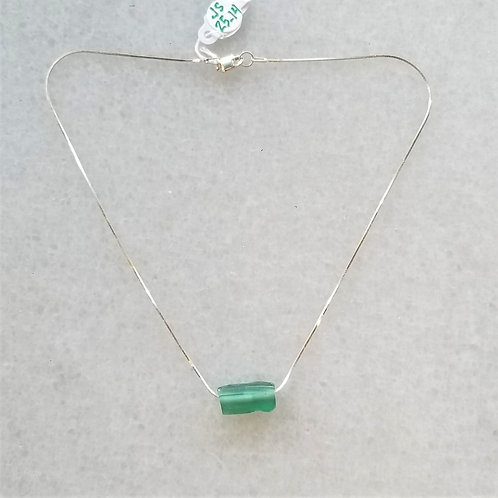 ObscurO Roman Glass Sterling Necklace