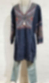 Johnny Was Embroidered Tunic, ObscurO Jewelry Necklace