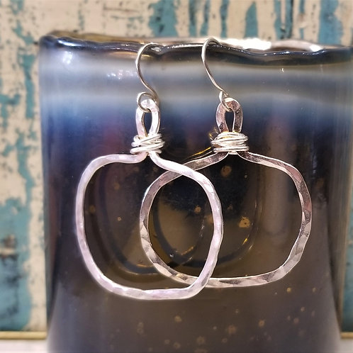 ObscurO Sterling Silver Earrings