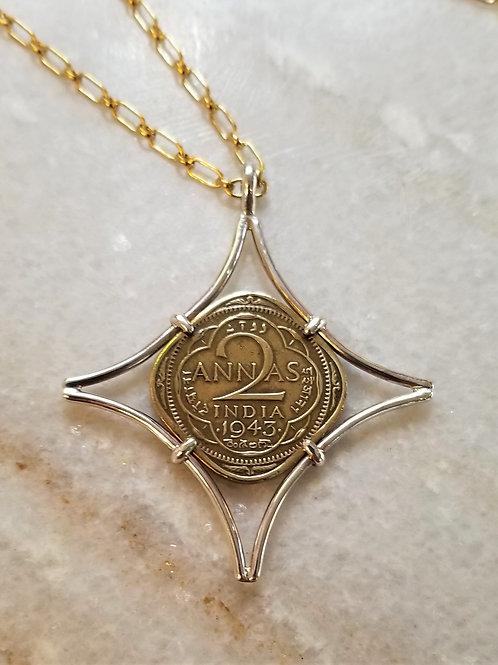 Karen Wright India Coin Necklace