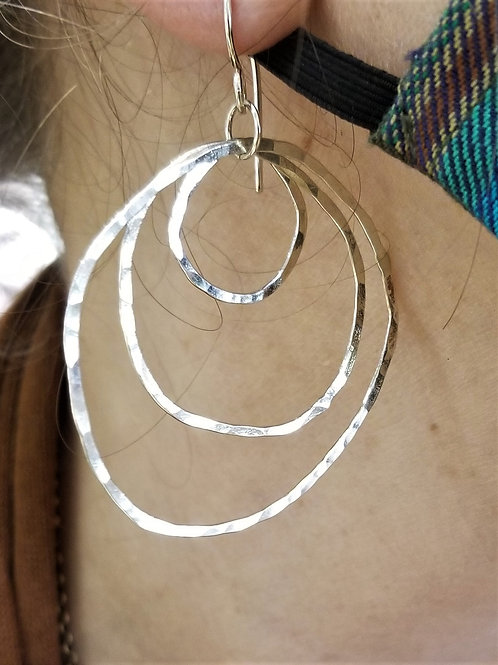 ObscurO Round and Round Earring