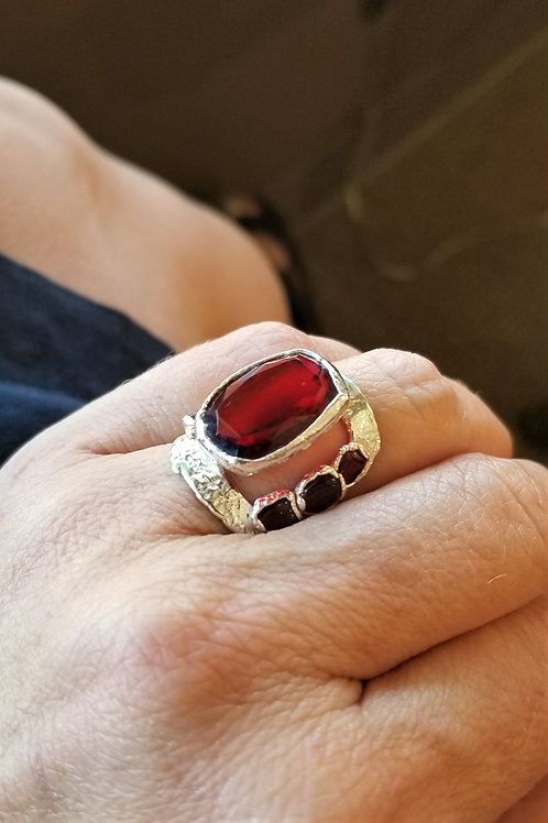 C&R Fine Silver One of a Kind Ring