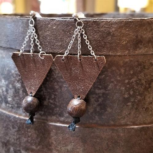 BettyLou Leather Earrings