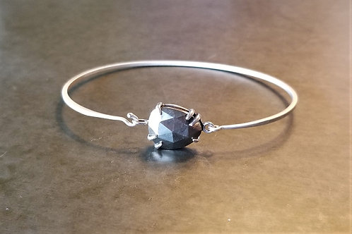 ChanLuu Pyrite and Silver Bracelet
