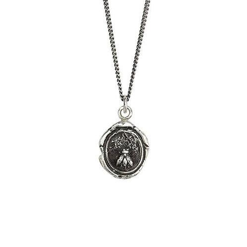 Pyrrha Tireless Sterling Silver Talisman Necklace