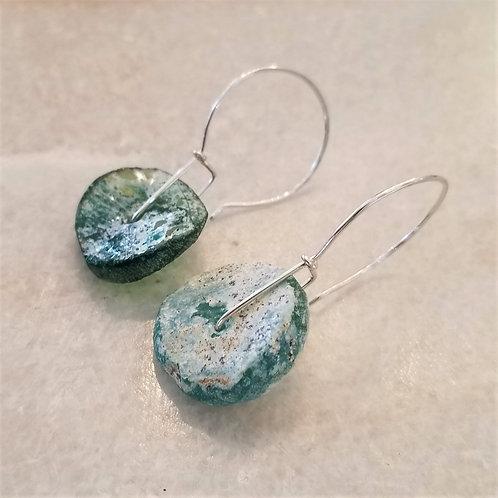 ObscurO Roman Glass Earrings