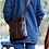 Thumbnail: Jack Georges VOYAGER SMALL ZIPPERED CROSSBODY BAG #7880