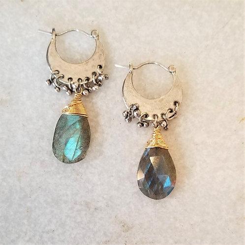 Austin Titus Studio Labradorite Earrings
