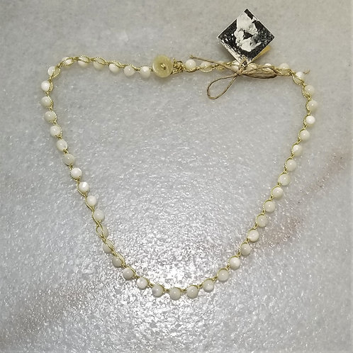 Mermaid's Pearl Mother of Pearl Necklace