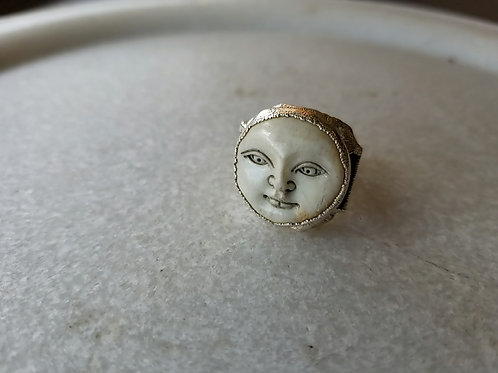 C&R Designs Moon Ring
