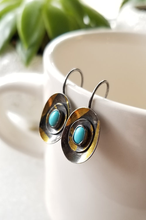 Austin Titus Studio Turquoise Kuem Boo Earrings