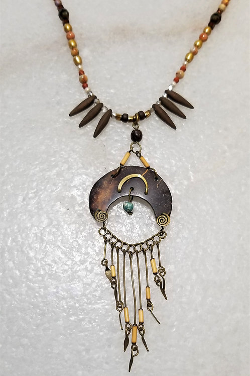 The Mermaid's Pearl Southwestern Necklace