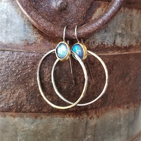 Austin Titus Studio Kuem Boo Labradorite Earrings