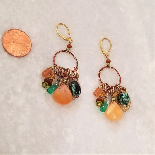 Chipita Multi Stone Earrings