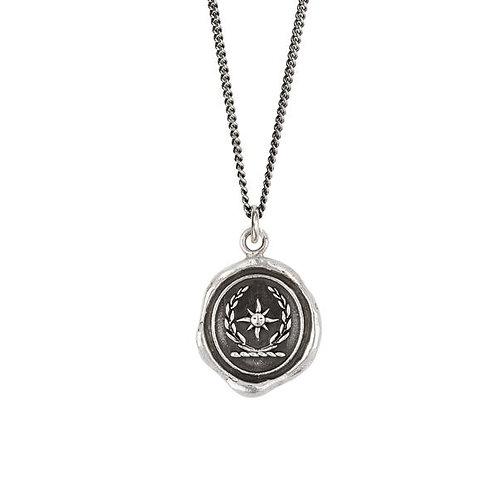 Pyrrha Tend Your Garden Sterling Silver Talisman Necklace