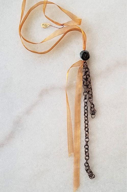 Petrushka Ribbon Necklace