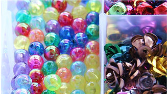 Iridescent Beads and Foil Flowers.jpg