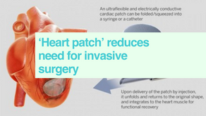 Injectable heart patch
