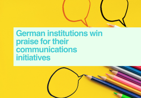 German communication awards