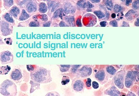 Leukaemia discovery