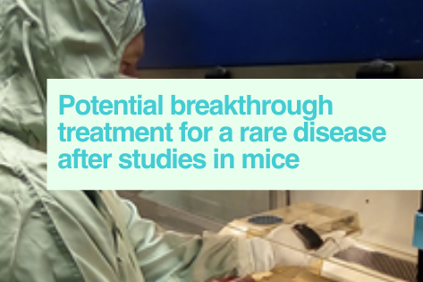 Find treatments for rare disease