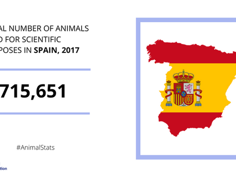 Research sector in Spain welcomes EU-wide figures on the number of animals used in science
